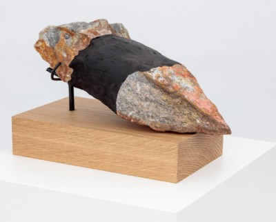 Sculture with rock